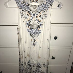 Urban Outfitters pattern dress